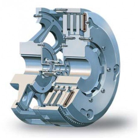 Pneumatic Clutches and Brakes Low Inertia and Air Tube Disc Clutches and Brakes